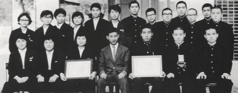 珠算部全国大会出場(昭和40年)