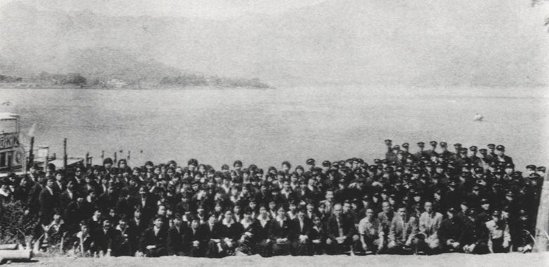 第1回修学旅行(昭和35年)